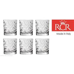 * RCR LAURUS SZKLANKA 330ML WHISKY KPL 6 SZT-16238