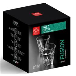 RCR FUSION SZKLANKA DO WHISKY 270ML KPL 6 2 SZT-17801
