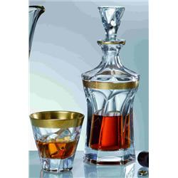 BOHEMIA APOLLO GOLD ZESTAW DO WHISKY 1 2-8413